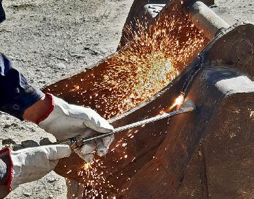 riparazione e rigenerazione attrezzature idrauliche
