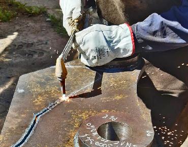 wreko saldatura riparazione benna
