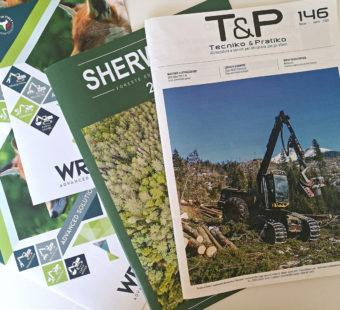 T&P Sherwood rivista forestale